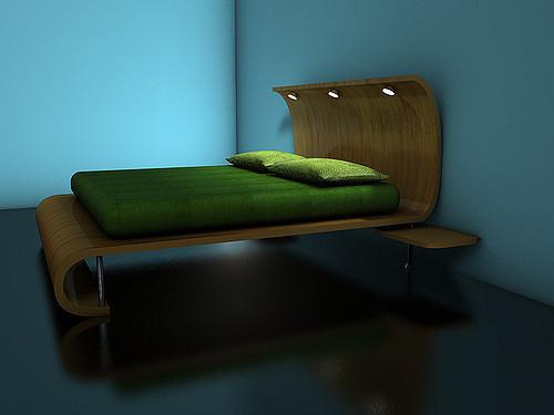 Modern futon ágy