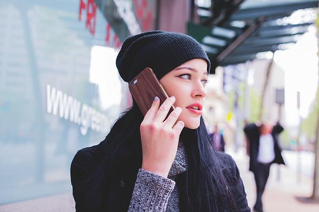 Telefontokok kivételes mintázattal